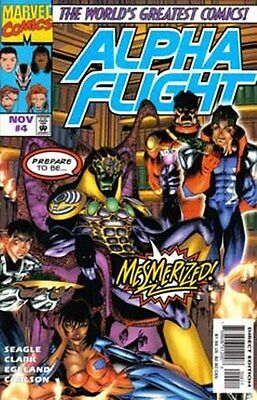 ALPHA  FLIGHT   { Marvel  -  Nov   1997 }  ## 4  ## 5   MESMERO