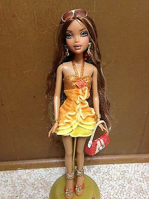 Barbie My Scene Madison Juicy Bling Curly Long Hair African American AA Rare