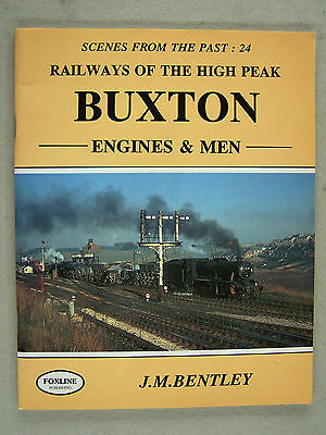 """scenes From The Past:24 Buxton."" Railway.trains. Book."