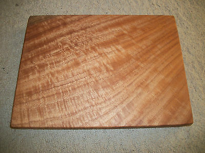 NEW Brush Box Hardwood timber slab cutting board / chopping board / serving tray