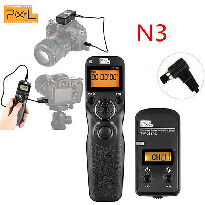 PIXEL TW283 N3 LCD 2.4GHz Wireless Timer Remote Control for CANON EOS 10D 20D