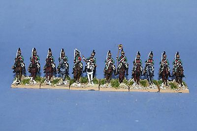 15mm Napoleonic Painted French Dragoon FR09-3