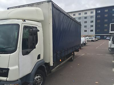 LEYLAND DAF 45 /150 . 7.5t 26ft body. 55 plate