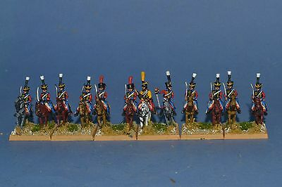 15mm Napoleonic painted French Late Hussar Fr021-4