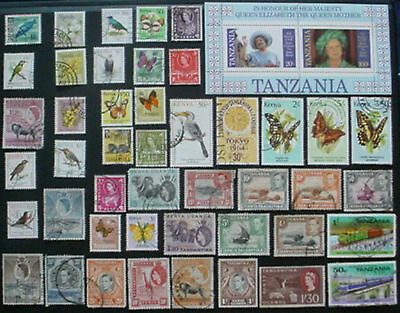 K.u.t: Collection Of Used Stamps & M/s: Lot 2