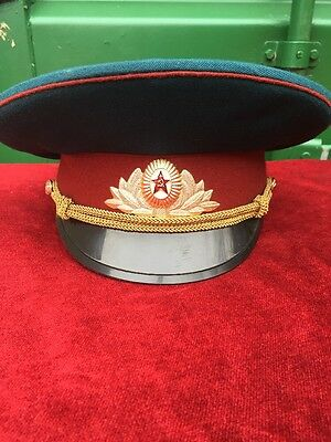 Russian USSR Peaked Cap Dated 1980
