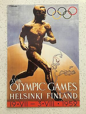 Fantastic 1952 Helsinki Olympics Postcard - Others Years Available From Aust.