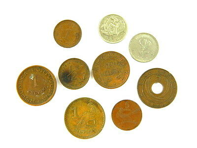 Uganda 10 Cents 1966 Plus Assorted African Coins