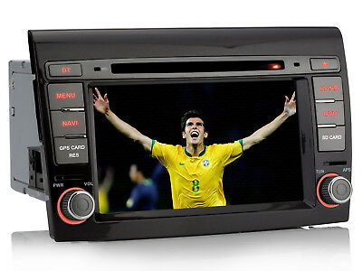 "Per Fiat Bravo 2007-2012 3G WIFI 7"" HD Autoradio Nav Stereo Radio GPS MP3 Player"