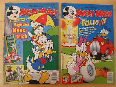 Micky Maus  Comic Nr.13 und Nr.44  Jahrgang 1997   Donald Duck