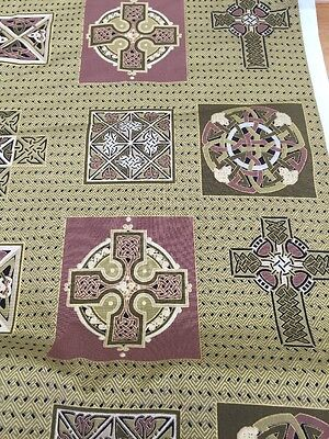 I Metre Of Celtic Inspired Fabric Gorgeous For Quilts Bags Etc