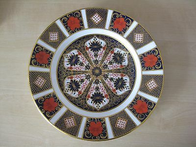 Royal Crown Derby Old Imari 1128 Dessert Plate 8.5 inches -1980