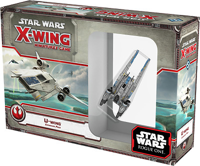 Star Wars X-Wing Miniatures Game - U Wing Basically NEW (No Box)
