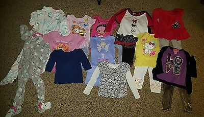 Huge lot of Toddler Girl Clothes, VGUC to EUC, 3T-4T
