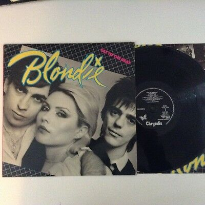 Blondie Eat To The Beat French Press Lp Ex+ Rare Vinyl Album