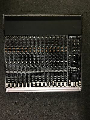Mackie 1604-VLZ 3,16 channel mixing desk with premium  mic preamplifiers