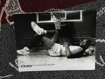"""8"""" x 6"""" PRESS AGENCY PHOTO - SHAQUILLE O'NEAL - BATON ROUGE 1991"""