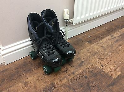 Bauer Turbo Roller Skates Boots UK Size 8 Men's Or Womens