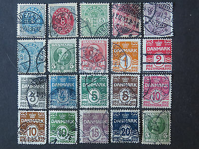 Denmark Collection - 12 Pages - 210+ Different Stamps - High CV