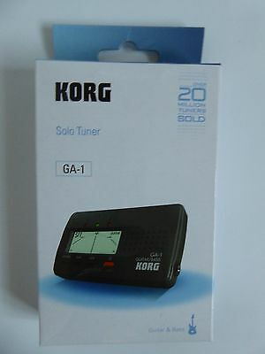 KORG Solo Tuner GA-1 Brand new in box with Batteries