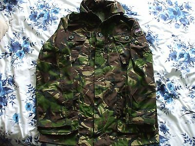 British Army Issued DPM Windproof Combat Smock (size 180/104 / Large) Used