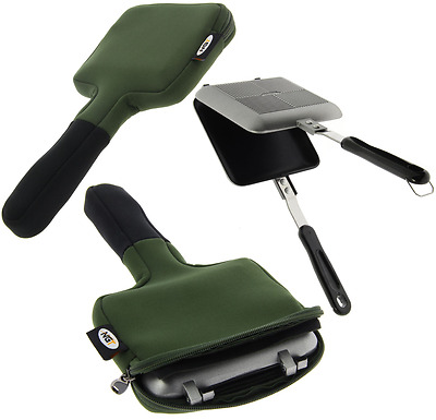 Grilla Toastie Toaster Maker With Case Bag Carp Fishing Camping Festivals