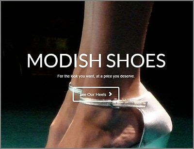 LADIES SHOES Website Earn £105.53 A SALE FREE Domain FREE Hosting FREE Traffic