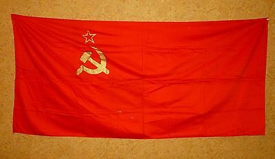 Original Russian Soviet USSR State Flag Banner Nice