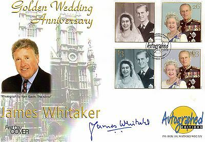 JAMES WHITTAKER deceased AUTOGRAPHED FDC, AUTHOR ROYALTY