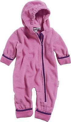 Playshoes Fleece-Overall in pink