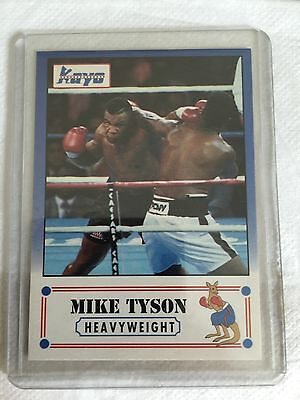 1991 Mike Tyson Kayo Promo Chase Boxing Card Rare Nr Mint
