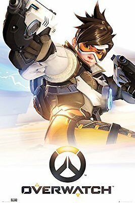 Overwatch Poster Computer Video Game Print Wall Key Art Large Maxi