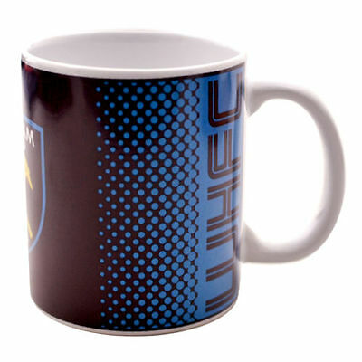 Official Licensed Football Product West Ham United Mug FD Cup Coffee Tea Gift