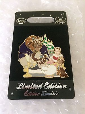Disney Beauty And The Beast Limited Edition Pin