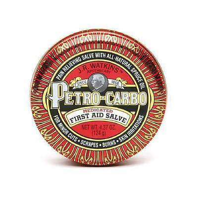 J.R. Watkins Petro-Carbo Medicated First Aid Salve Pain Relief
