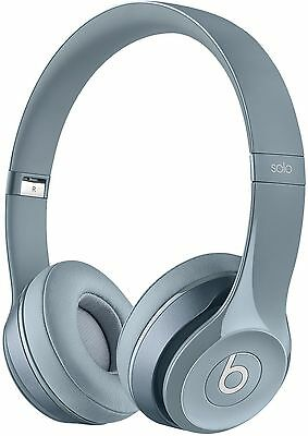 Beats by Dr Dre Solo 2 Adjustable Foldable Wired On-Ear Headphones *Grey* D+