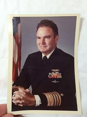 United States Naval Photographic Center Navy Photo Admiral Harold Shear Print