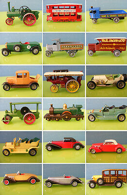 Perfect 1950-1980 Matchbox Yesteryear Original Collection 76 Pieces
