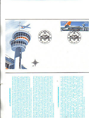 collection of 5 south west africa covers