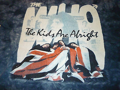The Who Shirt ( Used Size L ) Used Condition!!!