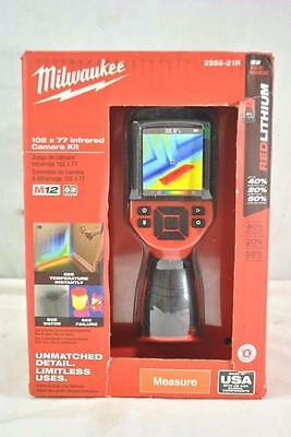 Milwaukee 2258-21H M12 12V Li-Ion Cordless 102 x 77 Infrared Camera Kit -New!