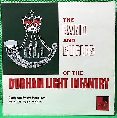 The Durham Light Infantry Vinyl Record LP Military Band & Bugles