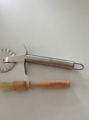 Pastry Cutter & Pastry Brush Marked Guinness