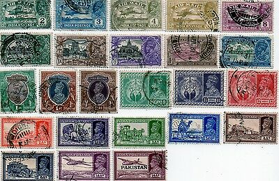 commonwealth stamps, india george v and vi