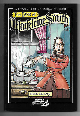 A Treasury of Victorian Murders: Madeleine Smith (2006; 80pg hbk) by Rick Geary