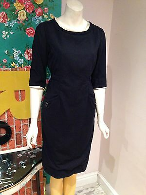 Vintage 1950's Woollen Wiggle Dress Size 10?
