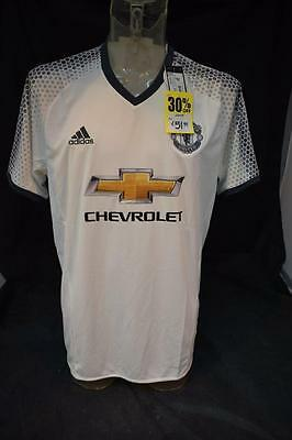 Mens White 2016 2017 Manchester United away Shirt Size XL New With tags