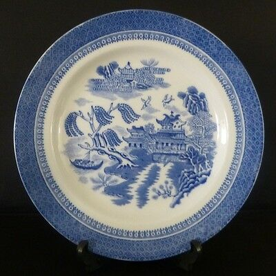 Vintage Cauldon Potteries Willow Ching Pattern Dinner Plate