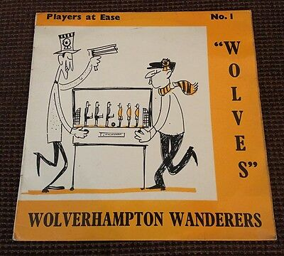 The Hungry Wolves vinyl Lp Players At Ease Wolverhampton Wanderers
