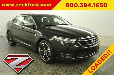 2016 Ford Taurus Limited 3.5 EcoBoost Automatic FWD Moonroof Navigation Leather Seats Reverse Camera